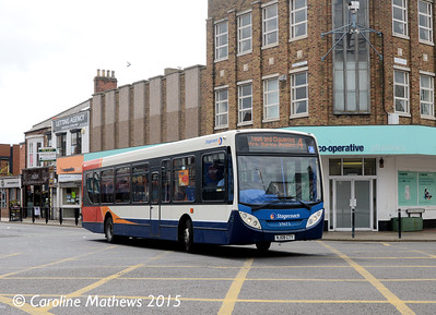 Stagecoach 39673 (NJ08CTY), York Road, Hartlepool, 16th May 2015