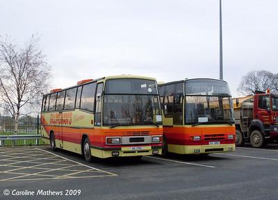 Gillinghams GIL1792 & GIL1082, Wentworth Car Park, Hexham, 6th November 2009