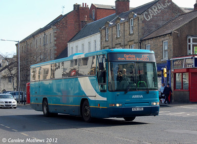Arriva North East 1201 (R291KRG), Hexham, 29th March 2012
