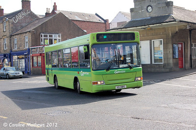 Go North East 513 (X513WRG), Hexham, 29th March 2012