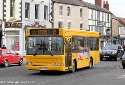 Go North East 618 (NK55RUV), Hexham, 6th September 2012