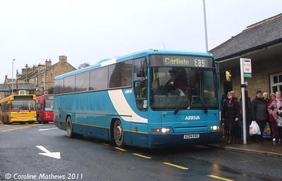 Arriva North East 1204 (R294KRG), Hexham, 19th November 2011