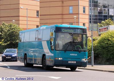 Arriva North East 1205 (R295KRG), Hexham, 21st July 2012