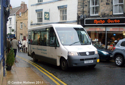 Adapt North East YX58EHP, Hexham, 19th November 2011