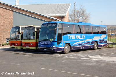Tyne Valley XSV298, Hexham, 29th March 2012