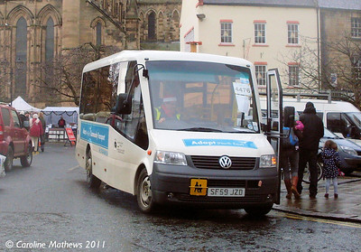 Adapt North East SF59JZD, Hexham Market Place, 19th November 2011