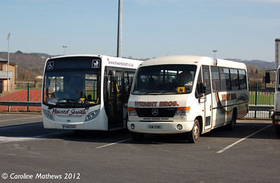 Howard Snaith YX60DXV & Wrights CIW290, Hexham, 29th March 2012