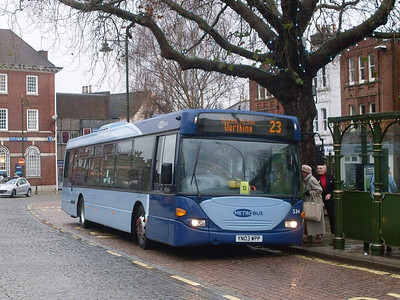 Metrobus 534 (YN03WPP), Horsham, 30th December 2009
