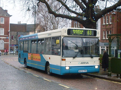 Arriva 3033 (N233TPK), Horsham, 30th December 2009