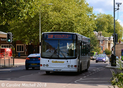 Galloway 227 (3367PP), Crown Street, Ipswich, 24th September 2018