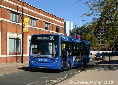 First 67776 (SN62AXU), Princes Street, Ipswich, 24th September 2018