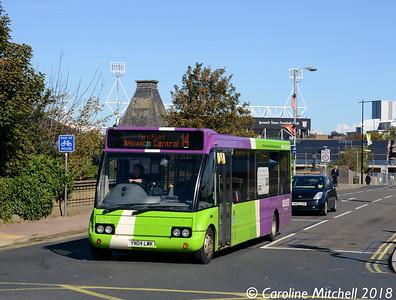 Ipswich Buses 241 (YN04LWK), Princes Street, Ipswich, 24th September 2018