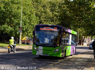 Ipswich Buses 78 (YX14RWL), Crown Street, Ipswich, 24th September 2018