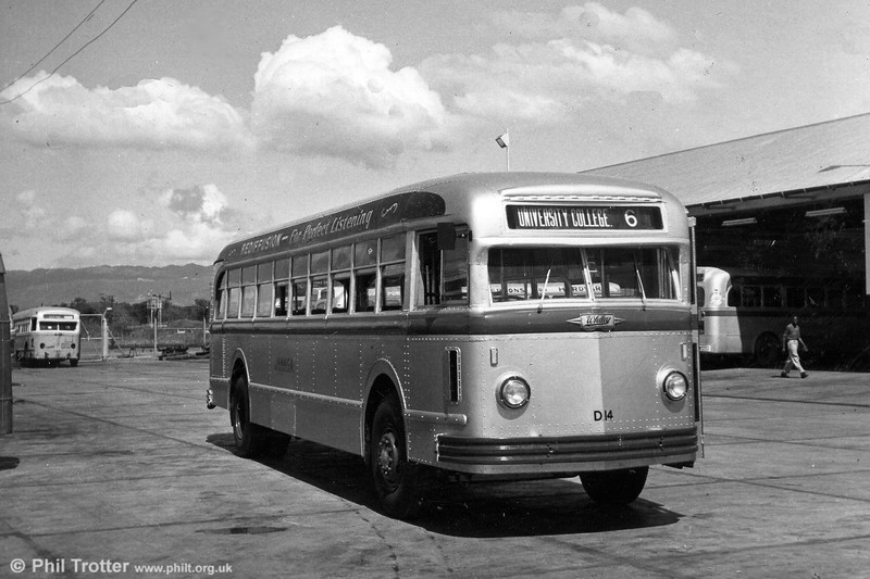 Rebuilt White vehicle D14. Records show that by 1956 several of this type of vehicle had been re-engined with Leyland 0/600 power units.
