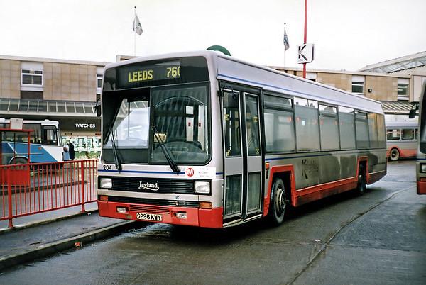 204 G296KWY, Keighley 15/2/1991