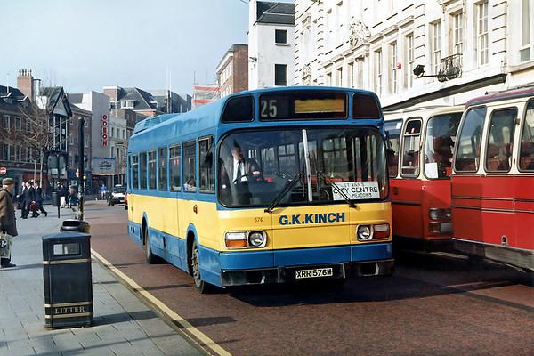 576 XRR576M, Nottingham 4/3/1992