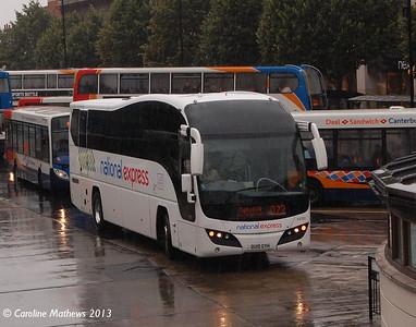 Stagecoach 53701 (OU10GYH), Canterbury, 9th September 2013