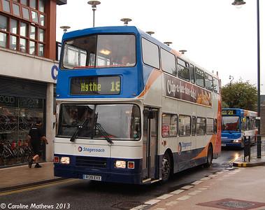 Stagecoach 16139 (R139EVX), Canterbury, 9th September 2013