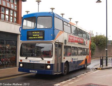 Stagecoach 16023 (P823GMU), Canterbury, 9th September 2013