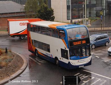 Stagecoach 15443 (KX08KZK), Canterbury, 9th September 2013
