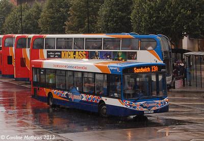 Stagecoach 27518 (GX06DYY), Canterbury, 9th September 2013