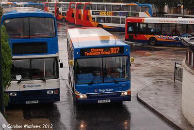 Stagecoach 34662 (GX54FVY), Canterbury, 9th September 2013