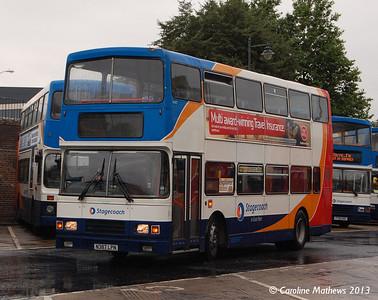 Stagecoach 16387 (N387LPN), Canterbury, 9th September 2013