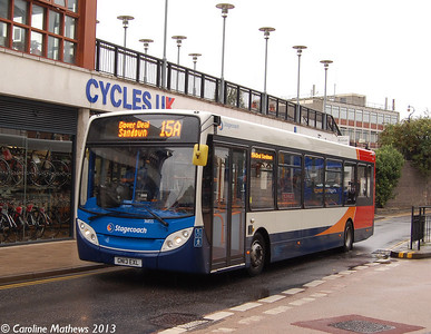 Stagecoach 36855 (GN13EXL), Canterbury, 9th September 2013