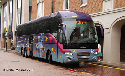 6600HDT, Canterbury, 9th September 2013