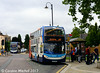 Stagecoach 15607 (KX59BBO), Horse Market, Kettering, 2nd August 2017