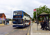 Stagecoach 18410 (KX06JYB), Horse Market, Kettering, 2nd August 2017