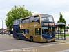 Stagecoach 15749 (KX61DLV), Horse Market, Kettering, 2nd August 2017
