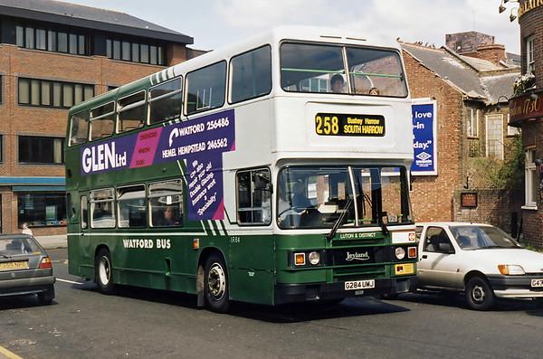 LR84 G284UMJ, South Harrow 13/4/1995