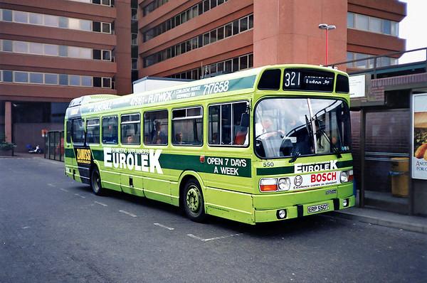 550 ERP550T, Watford Junction 15/5/1991