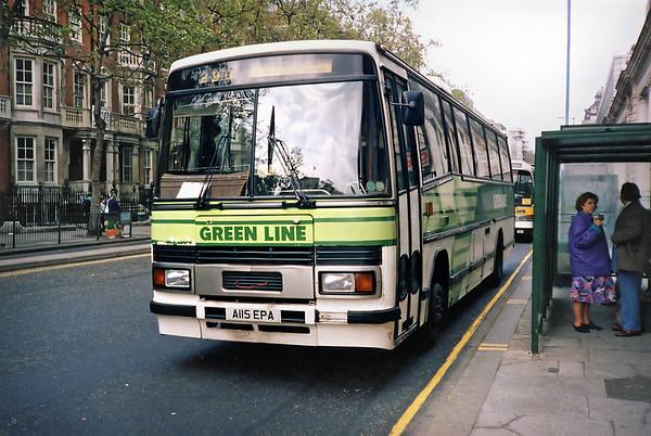 TP15 A115EPA, London Victoria 20/5/1991