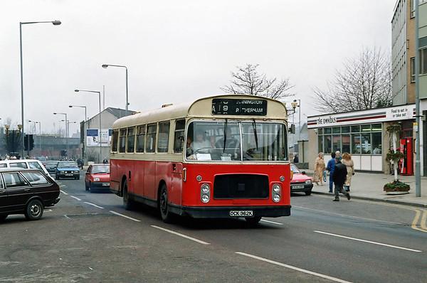 OCK362K, Rotherham 29/2/1992