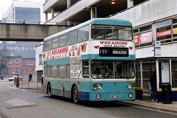 125 NOC391R, Doncaster 19/2/1992