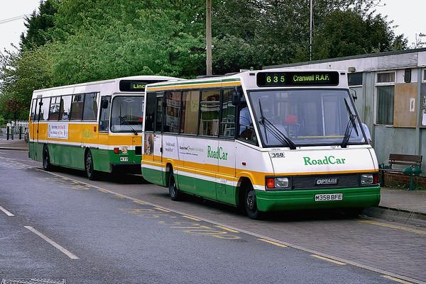 358 M358BFE, Sleaford 21/5/2005