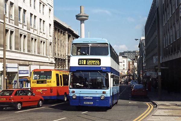 730 VPA150S, Liverpool 13/5/1996