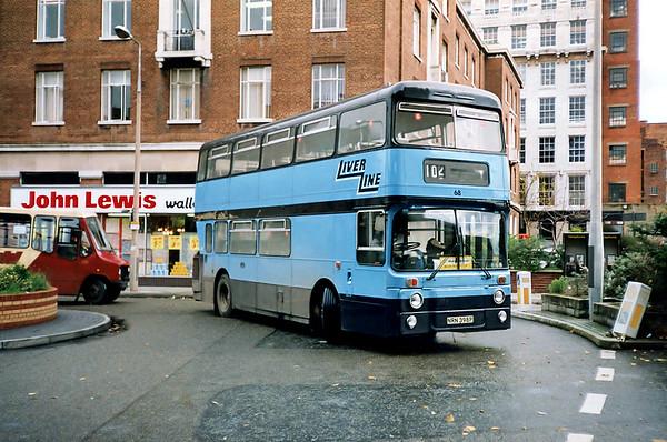 68 NRN398P, Liverpool 16/11/1990