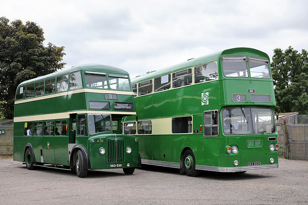 A36 NKD536 and 1111 UKA562H, Martin Mere 18/6/2016
