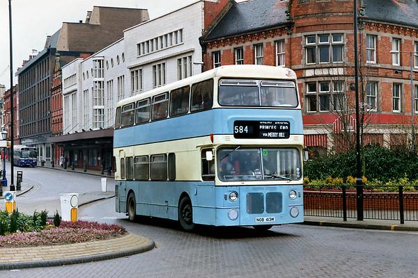 NOB413M, Wolverhampton 7/3/1992