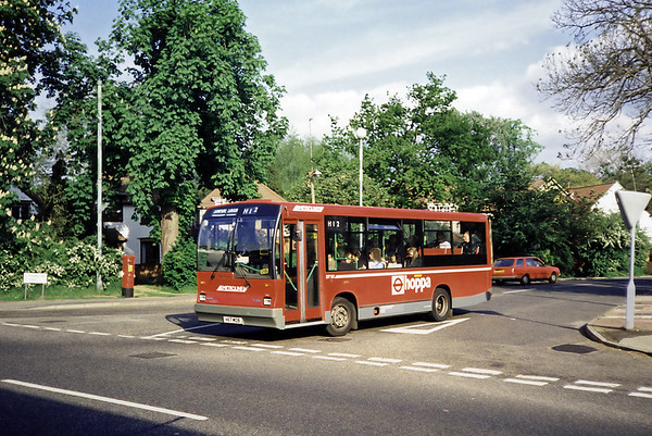 DT117 H117MOB, Pinner 14/5/1991