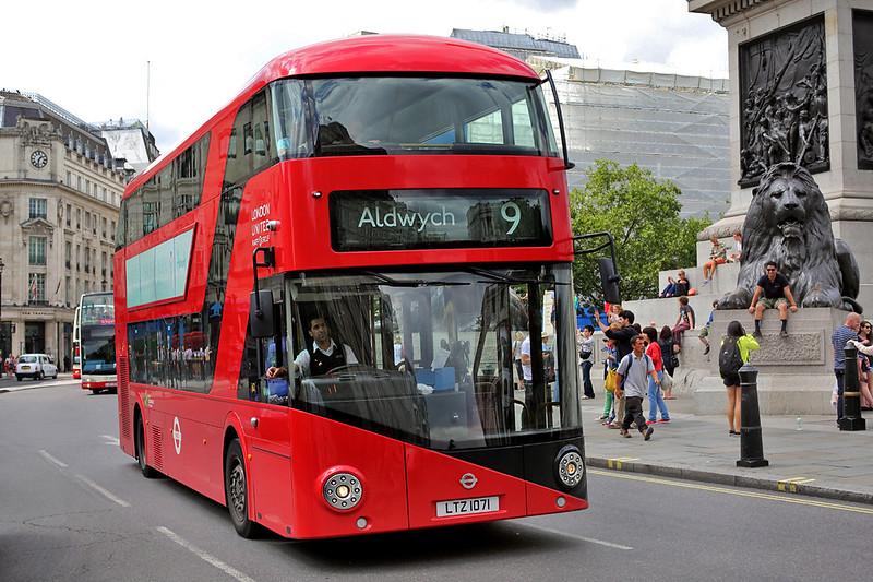 LT71 LTZ1071, Trafalgar Square 6/8/2014