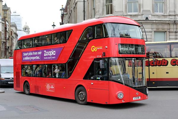 LT118 LTZ1118, Trafalgar Square 2/5/2014