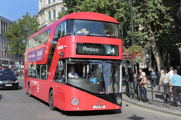 LT105 LTZ1105, Trafalgar Square 6/9/2015