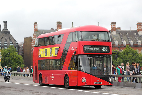 LT309 LTZ1309, Westminster Bridge 4/9/2017