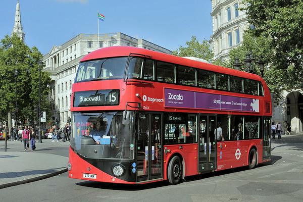 LT414 LTZ1414, Trafalgar Square 6/9/2015