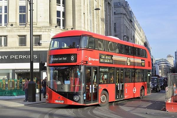LT406 LTZ1406, Tottenham Court Road 19/1/2017
