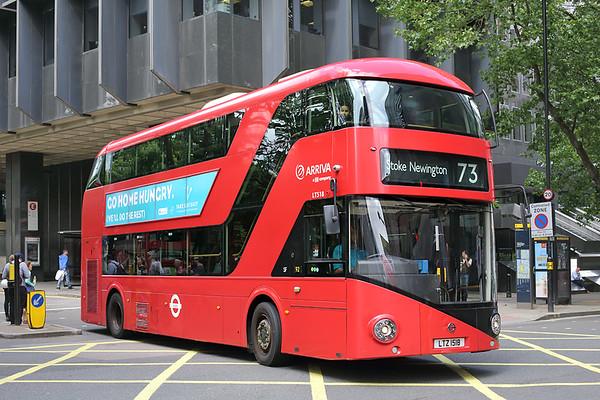 LT518 LTZ1518, Euston 21/6/2016